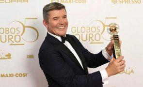 Globos de Ouro: João Baião conquista prémio e destrona Cristina Ferreira