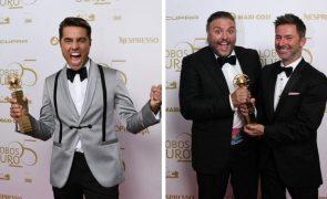 Globos De Ouro Os grandes vencedores da noite e as fotos de vitória