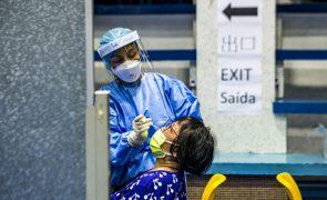 Covid-19: Macau deteta segundo caso do dia, 73.º desde o início da pandemia