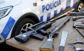 PSP deteve 16 pessoas e apreendeu 32 armas em operação