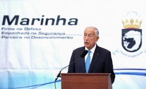 Presidente da República agradece à Marinha contributo no combate à pandemia
