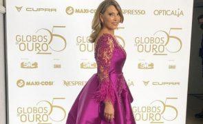 Clara De Sousa SIC exigiu que ela só usasse um vestido nos Globos