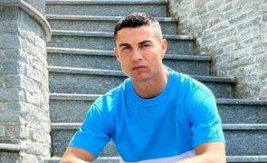 Cristiano Ronaldo Jogador está de luto: