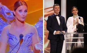 Cristina Ferreira SIC atira-se à apresentadora em noite de gala e Twitter explode: