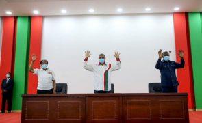 Líder da Frente Patriótica diz que Angola reclama pela alternância