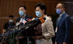 Líder de Hong Kong diz que eleições serão