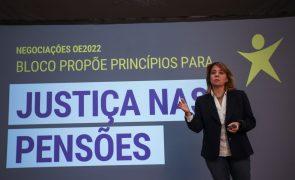 OE2022: Catarina Martins contra ideia de debate orçamental