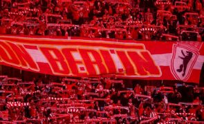 União Berlim proíbe autor de insultos antissemitas de entrar no estádio