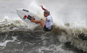 Surfistas Yolanda Sequeira e Teresa Bonvalot nos 'oitavos' na Ericeira