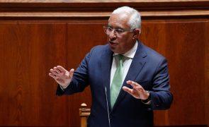 Costa hoje no parlamento num debate já marcado pelo Orçamento