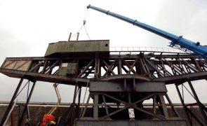 Titan do Porto de Leixões em Matosinhos inaugurado após obras de recuperação de 2ME