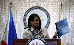 Vice-presidente das Filipinas confirma candidatura à presidência