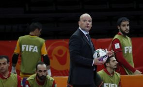Futsal/Mundial: Jorge Braz quer estar nas finais