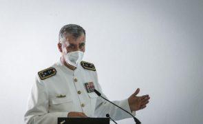 Gouveia e Melo diz que é irrealista haver preconceito contra utilização de capacidades militares