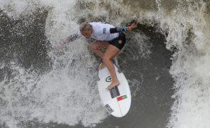 Surfista Yolanda Sequeira eliminada nos 'oitavos' na Ericeira