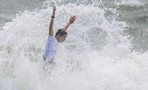 Ericeira sem surfistas portugueses após eliminação de Teresa Bonvalot