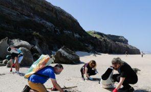 Recolhidas 31 toneladas de lixo marinho em semana de limpeza costeira