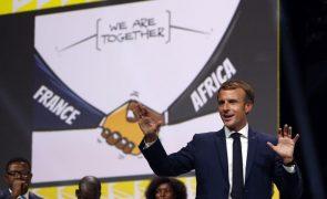 Emmanuel Macron anuncia novo fundo de 30 milhões de euros para África