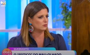 Maria Botelho Moniz descobre em direto que foi vítima de mau-olhado