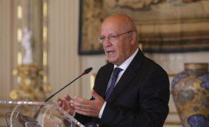 Augusto Santos Silva defende maior investimento da UE no fortalecimento da NATO