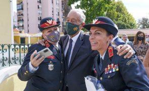 Marcelo destaca papel de MAI em matéria de prevenção e resposta aos incêndios