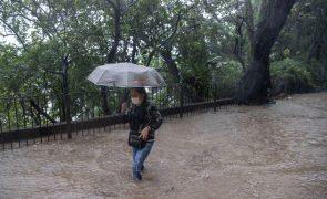 Tufão Lionrock afasta-se de Macau e sinal 8 deve baixar durante a madrugada