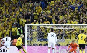 Mundial2022: Suécia 'ameça' Espanha, Irlanda vence pela primeira vez