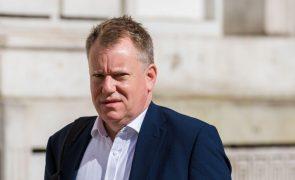 Brexit: Secretário de Estado britânico vai deixar recado a Bruxelas durante visita a Lisboa