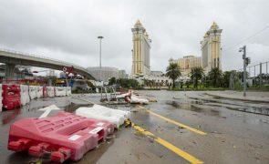 Macau cancela todos os sinais de tempestade tropical