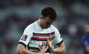 Mundial2022: Diogo Jota continua sem treinar na seleção portuguesa