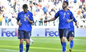 Liga das Nações: Anfitriã Itália conquista 'bronze' ao bater Bélgica
