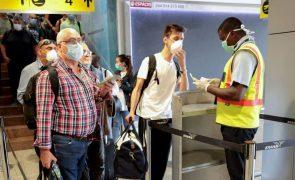 Covid-19: Angola passa a cobrar 46 euros por teste pós-desembarque