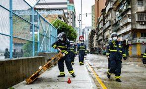 Macau emite sinal 1 para ciclone tropical severo Kompasu