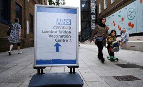 Covid-19: Reino Unido com todos os indicadores no vermelho