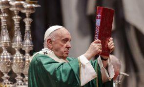 Papa reforça apoio a solução de dois Estados no conflito israelo-palestiniano