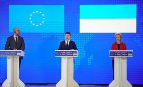 UE e Ucrânia assinam novos acordos e dizem-se cada vez mais próximas