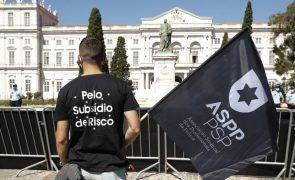 Orçamento de Estado 2022: PSP desagradada com valor do subsídio de risco