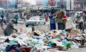 Governo de Luanda rescinde com duas empresas de limpeza por falta de capacidade