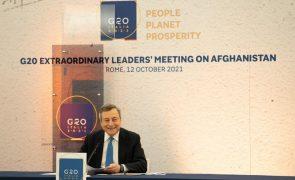 Líderes do G20 mostram-se empenhados em fornecer ajuda humanitária ao Afeganistão