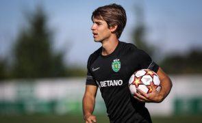 Daniel Bragança renova contrato com o Sporting até 2025