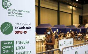 Covid-19: Madeira com 11 novos casos de infeção nas últimas 24 horas e 76 ativos