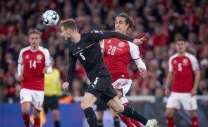 Mundial2022: Dinamarca vence Áustria e garante qualificação