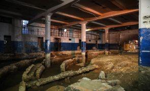 Obras expõem vestígios do Real Colyseu de Lisboa na zona do Intendente