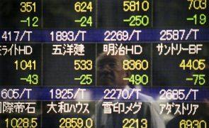 Bolsa de Tóquio abre a perder 0,83%