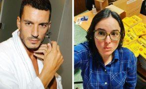 Ruben Rua explode após ser gozado por Joana Marques