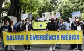 Técnicos de emergência pré-hospitalar em greve dia 22 com manifestação em Lisboa