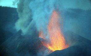 Dióxido de enxofre de vulcão de La Palma atinge Península Ibérica