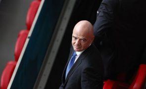 Infantino quer Israel a organizar Mundial2030 em conjunto com países árabes