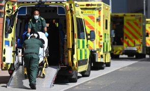 Covid-19: Reino Unido ultrapassa 138 mil mortos