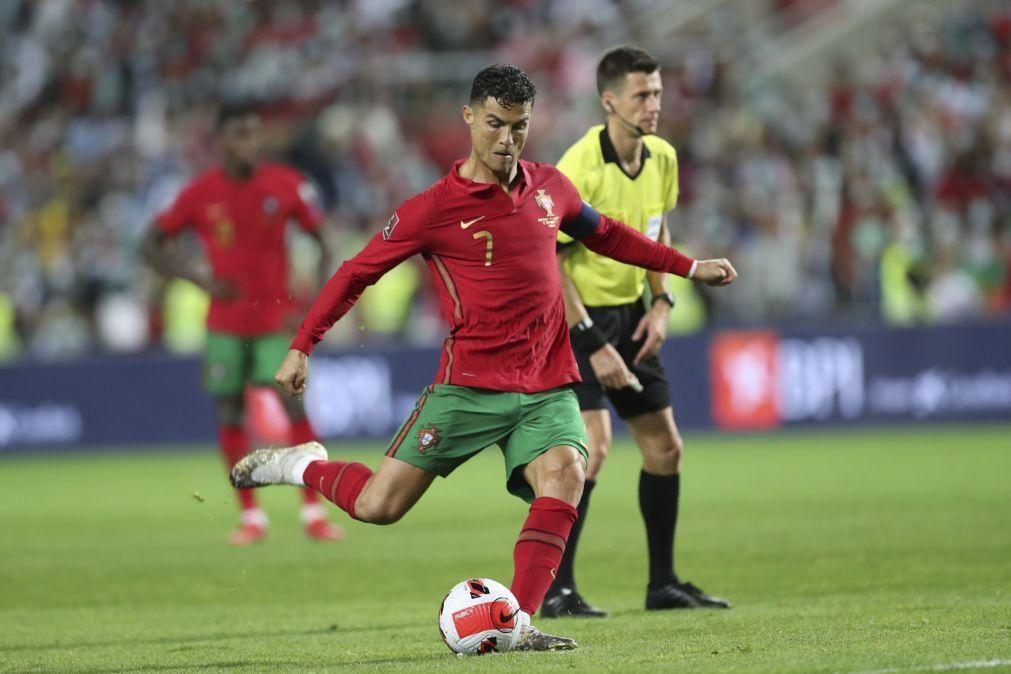 Ronaldo diz que 'hat-trick' apontado ao Luxemburgo tem